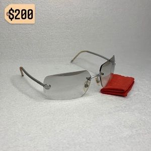 ✨✨✨✨SOLD✨✨✨✨Chanel CC Rimless Gradient Sunglasses